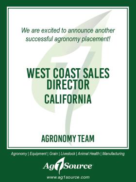West Coast Sales Director