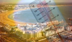 درجات الحراراة المرتقبة غدا الاثنين بأكادير وباقي المدن