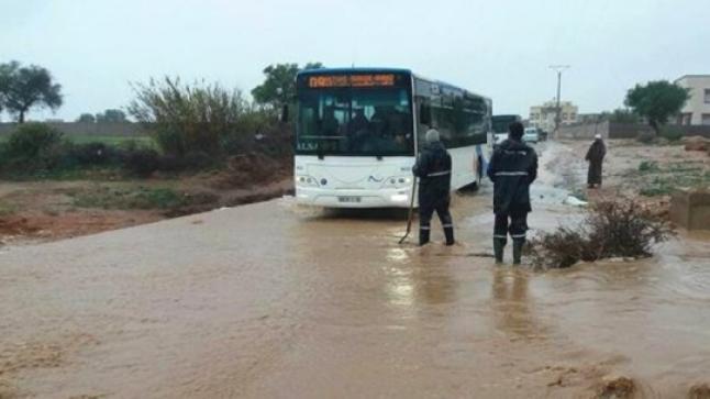 بسبب سوء الأحوال الجوية.. توقيف الدراسة بأكادير وإنزكان ومناطق أخرى من سوس
