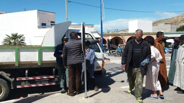 السلطة المحلية تقود حملة واسعة لتحرير الملك العمومي شمال أكادير