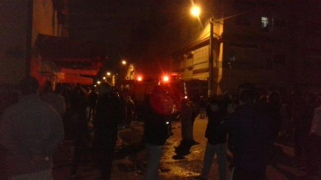 """انفجار قنينة غاز لبائع المأكولات الخفيفة """"خانز وبنبن"""" قرب سوق الأحد"""