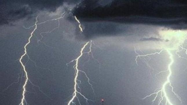 أمطار رعدية مصحوبة برياح قوية مرتقبة بعدد من مناطق المملكة