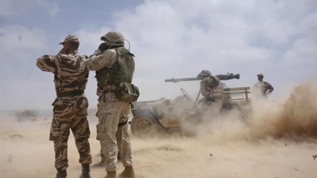 مناورات عسكرية بمنطقة أكادير وتيزنيت