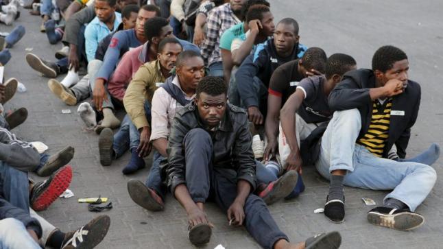 السلطات ترحل مهاجرين أفارقة من مدن الشمال إلى تيزنيت