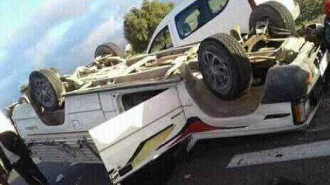 إصابة 15 عاملا زراعيا في حادثة سير خطيرة ببيوكرى