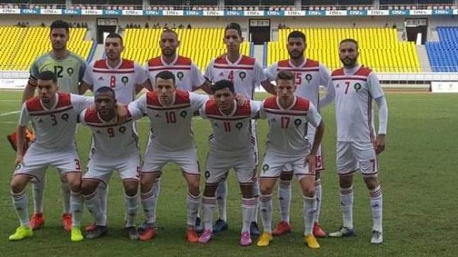 كريم باعدي يخرج مصابا في مباراة المغرب أمام مالاوي