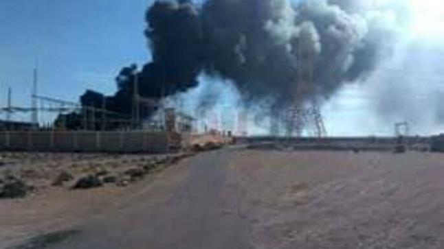 حريق بمحطة للتلفيف يخلف خسائر كبيرة بأولاد تايمة