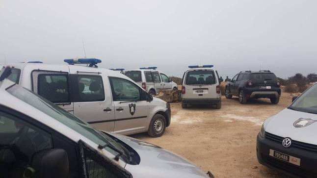 السلطات المحلية تقود حملة أمنية كبيرة ضواحي أكادير