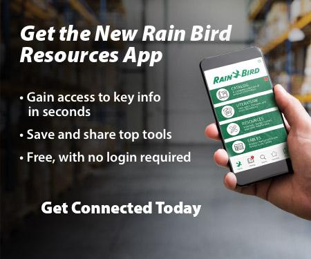 Rain Bird presenta su nueva aplicación: Rain Bird Resources