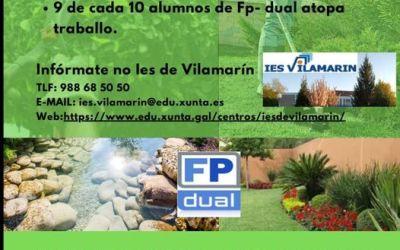 FP-DUAL en Jardinería y Florería curso 2021/2022 Vilamarin (Ourense)