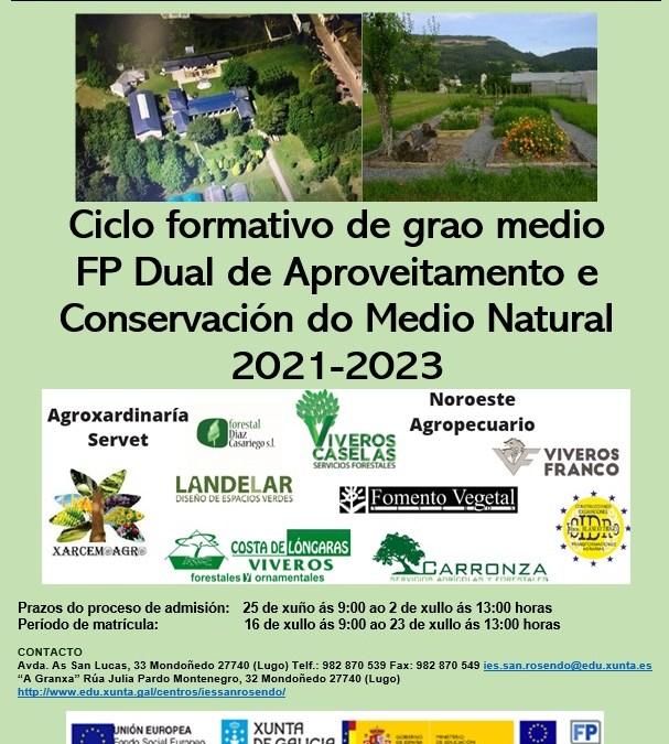 FP DUAL en MONDOÑEDO: Aproveitamento e conservación do medio natural