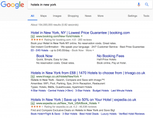 Hotel - Search results