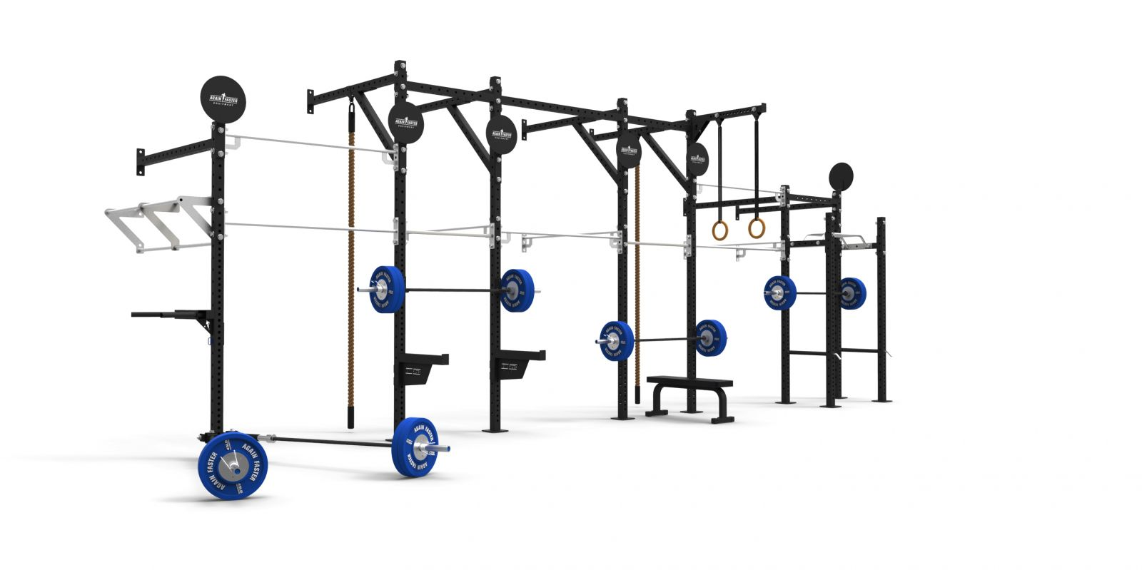 Competition 3x3 Pull Up Rig