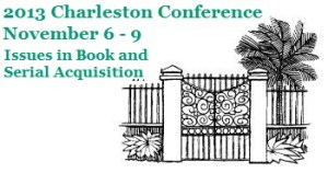 Charleston Conference 2013 header