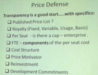 Price Defense