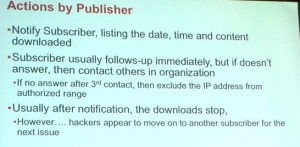 Actions by Publisher