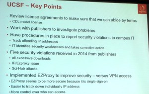 UCSF Key Points