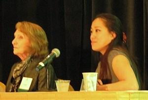 Deanna Marcum and Franny Lee