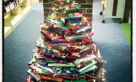 ATG Quirkies: Use Books to Build a Christmas Tree!