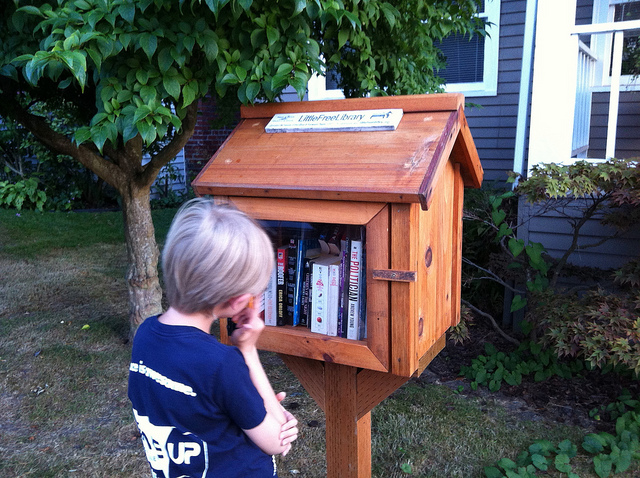 ATG Quirkies: A Bird House for Migrating Wild Books!