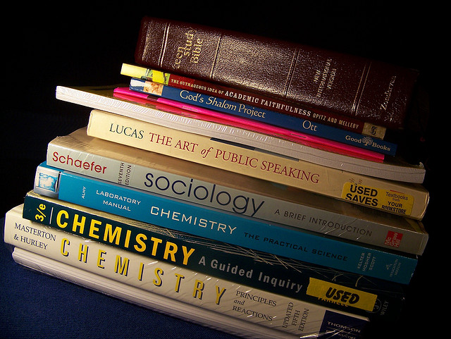 """ATG """"I Wonder"""" Wednesday: Does your library purchase textbooks for circulation or reserve?"""
