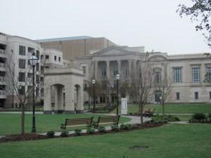 Gaillard Center Rear Entrance