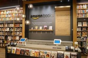 Amazon book display 3