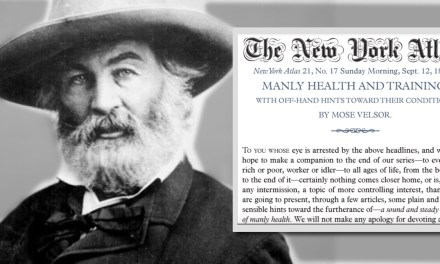 ATG Quirkies: Health Tips from Walt Whitman