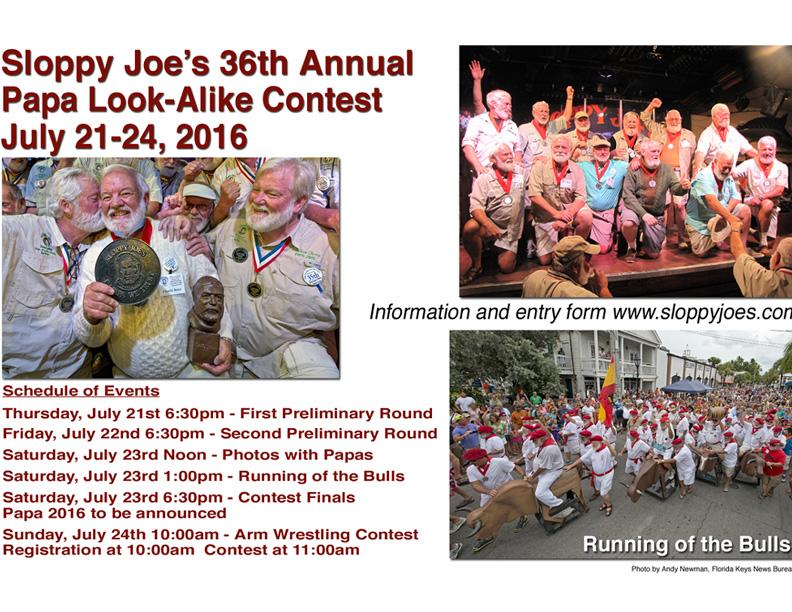ATG Quirkies: A Hemingway Wins Hemingway Look Alike Contest