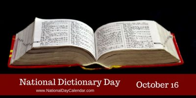 ATG Quirkies: Did You Celebrate National Dictionary Day?