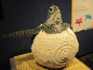 Lego sea turtle