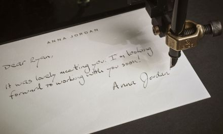ATG Quirkies: Personalize Your Thank You Notes With a Robotic Pen