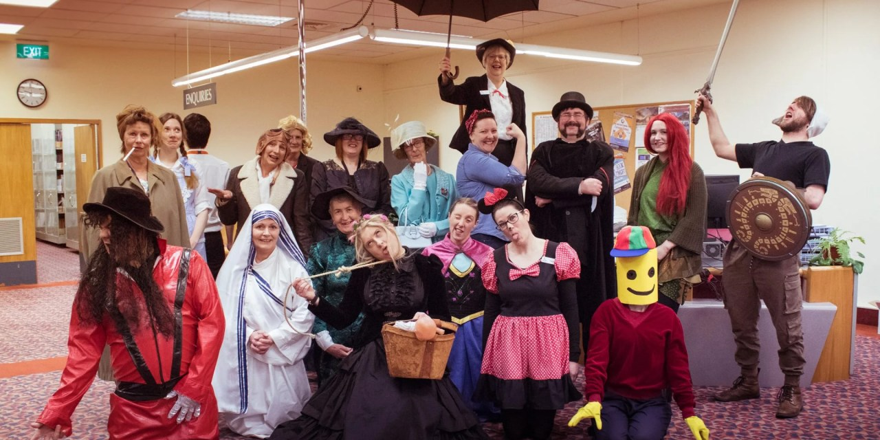 ATG Quirkies: Librarians in New Zealand Prepare for Halloween