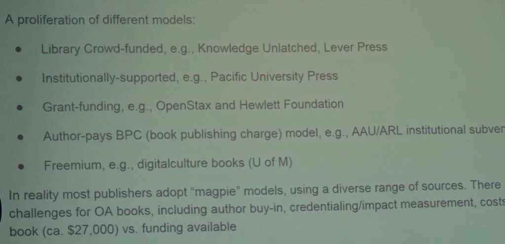 New Business Models: Open Access