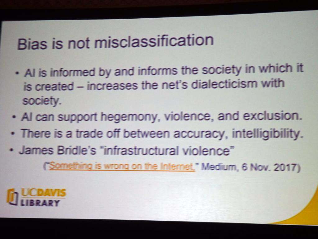 Bias is Not Misclassification