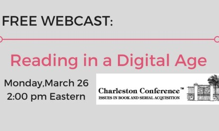 Free Webcast: Reading in a Digital Age