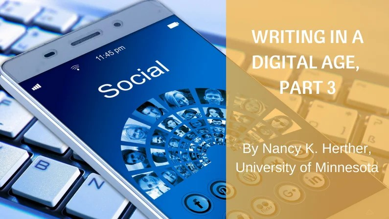 Writing in a Digital Age: Part 3 – Individual Questions and Bios