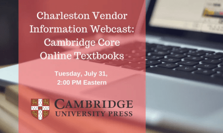 Free Webcast: Cambridge Core Online Textbooks