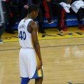 The Golden State Warriors are favorites again against the Cleveland Cavaliers. Flickr/http://bit.ly/1FCJf5G