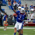 The Kansas Jayhawks are predicted at 1.5 wins this season. Flickr/http://bit.ly/1AH3n4J/Brent Flanders