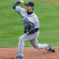 Hisashi Iwakuma can add some value. Flickr/http://bit.ly/1IgiZ26/Keith Allison
