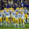 The LSU Tigers will have a tough time reaching 10 wins. Flickr/http://bit.ly/1Kcczid/Phillip Hendon