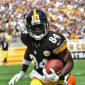 Antonio Brown should have the Pittsburgh Steelers humming again in the week 1 NFL best bets. Flickr/http://bit.ly/1HYKdnl/Brook Ward