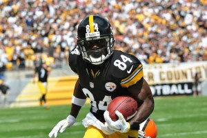Don't go with Antonio Brown this week in DFS. Flickr/http://bit.ly/1HYKdnl/Brook Ward