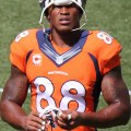 Demaryius Thomas has had a difficult year, but should bounce back as one of the top wide receivers. Flickr/http://bit.ly/1LSzArk/Jeffrey Beall