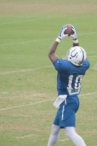 Donte Moncrief has a good matchup this week. Flickr/Angie Six/http://bit.ly/1it021m