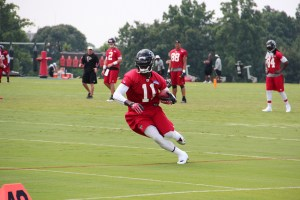 Julio Jones is the best wide receiver for your daily fantasy league. Flickr/http://bit.ly/1KRQWB9