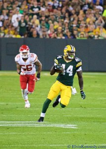James Starks would be a bad option this week. Flickr/Elvis Kennedy/http://bit.ly/1OQdqIA