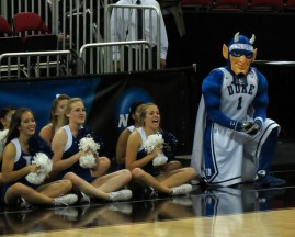 The Duke Blue Devils should be the favorite in the Midwest region. Flickr