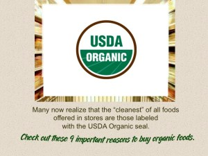 Reasons to Buy Organic 2